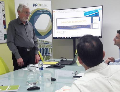 Concluye el curso de preparación para el examen PMP, organizado por Apta y PPM School